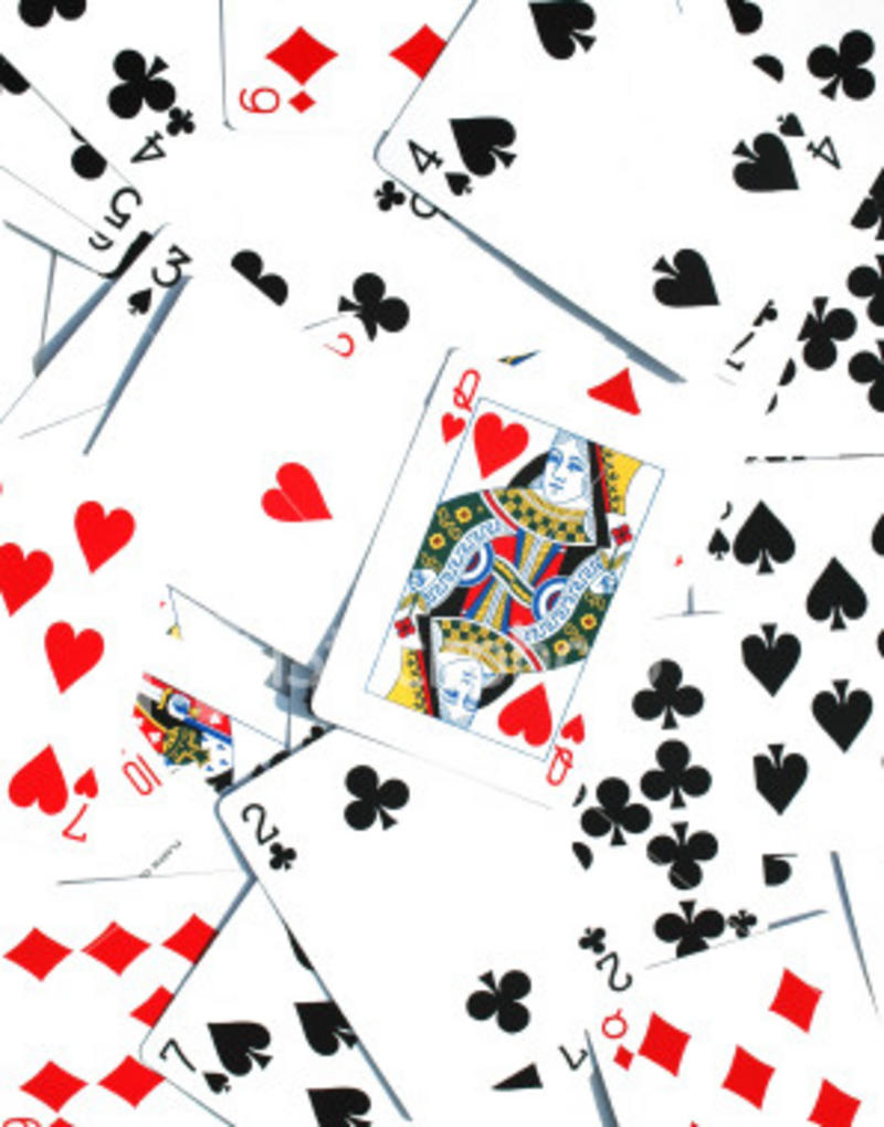 An ordinary pack of playing cards.   @SPorterEdu